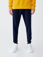 Спортивные штаны Pull & Bear 9680-514-401 L Синие (09680514401046) от Rozetka