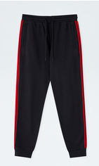 Спортивные штаны Pull & Bear 9680-516-800 XL Черные (09680516800052) от Rozetka