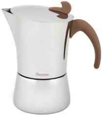 Акция на Гейзерная кофеварка Fissman 240 мл (9414) от Rozetka