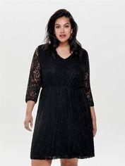 Платье ONLY 15164281 46 Черное (2002008262204) от Rozetka