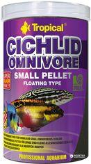 Акция на Корм Tropical Cichlid Omnivore Small Pellet для аквариумных рыб в гранулах 1 л (5900469609569) от Rozetka