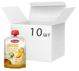 Упаковка органического напитка Semper Dryckis Манго-яблоко 150 мл х 10 шт (17310100402124) от Rozetka