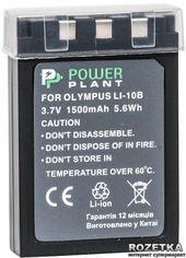 Aккумулятор PowerPlant для Olympus LI-10B, Li-12B (DV00DV1056) от Rozetka