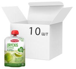 Упаковка органического напитка Semper Dryckis Яблоко 150 мл х 10 шт (17310100402049) от Rozetka