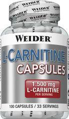 Акция на Жиросжигатель Weider L-Carnitine 1500 100 капсул (4044782385715) от Rozetka