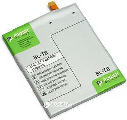 Акция на Аккумулятор PowerPlant LG BL-T8 (G Flex, D955, D958) (DV00DV6296) от Rozetka