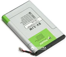 Аккумулятор PowerPlant Nokia BV-5JW (DV00DV6314) от Rozetka