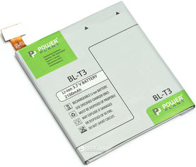 Аккумулятор PowerPlant LG BL-T3 (F100, F100L, F100S) (DV00DV6292) от Rozetka