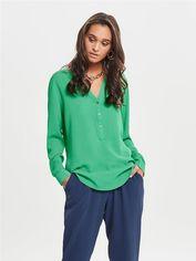 Блузка Jacqueline de Yong 151499511 44 Зеленая (2002008388843) от Rozetka
