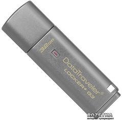 Kingston DataTraveler Locker+ G3 32GB (DTLPG3/32GB) от Rozetka