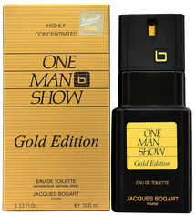 Туалетная вода для мужчин Jacques Bogart One Man Show Gold Edition 100 мл (3355991003408) от Rozetka