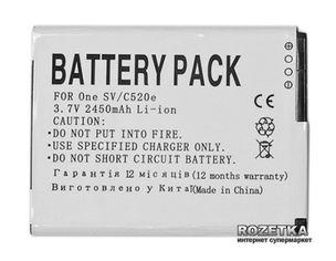 Акция на Аккумулятор PowerPlant HTC T528W (PM60120, One SV, C520e, C525E, C525C) (DV00DV6202) от Rozetka