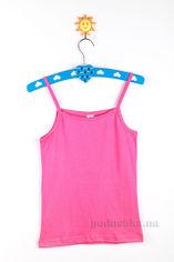 Майка на бретелях для девочки Niso Baby ДМТ3152 розовая 110-116 от Podushka