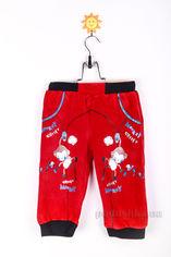 Штаны трикотажные детские Niso Baby 1110 красные 92 от Podushka