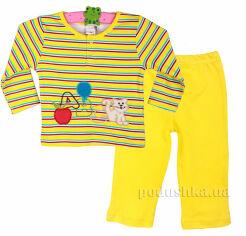 Пижама детская Niso Baby 1043 желтая 62 от Podushka