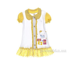 Платье детское Niso Baby 1018 желтое 92 от Podushka