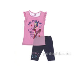 Костюм детский для девочки Niso Baby 1011 розовый 86 от Podushka