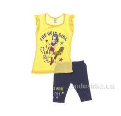 Костюм детский для девочки Niso Baby 1011 желтый 86 от Podushka