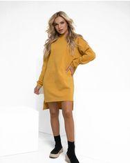 Платья ISSA PLUS 12221  XL горчичный от Issaplus