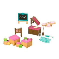 Игровой набор Li'l Woodzeez Класс и игровая площадка (6124Z) от Будинок іграшок