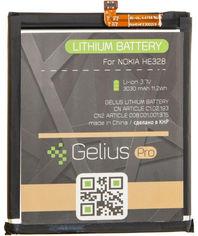 Аккумулятор Gelius Pro Nokia HE328 (Nokia 8) (3030 мАч) (2099900758461) от Rozetka