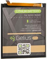 Аккумулятор Gelius Pro Nokia HE340 (Nokia 7) (3060 мАч) (2099900758485) от Rozetka