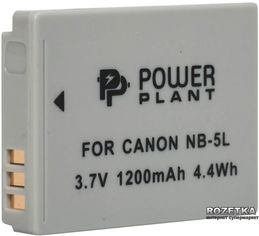 Aккумулятор PowerPlant для Canon NB-5L (DV00DV1160) от Rozetka