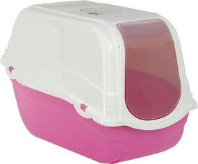 Акция на Туалет для кошек с фильтром Bergamo Romeo 57x39x41 см Corall (8058093274268) от Rozetka