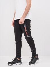 Спортивные штаны BEZET Million'20 XL Черные с принтом (ROZ6400018414) от Rozetka