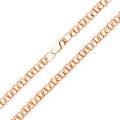 Золотая цепочка в красном цвете с алмазной гранью, 5мм 000117334 50 размера от Zlato