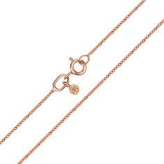 Цепочка из красного золота в якорном плетении 000134407 55 размера от Zlato