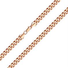 Браслет из красного золота в панцирном плетении 7мм, 000141486 21.5 размера от Zlato
