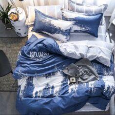 Акция на Комплект постельного белья MirSon Бязь Premium 17-0007 Adriana 2х160х220 см (2200001700710) от Rozetka
