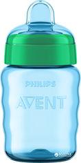 Акция на Чашка с мягким носиком Philips AVENT 260 мл Зеленая (SCF553/00_green) от Rozetka