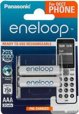 Аккумулятор Panasonic Eneloop AAA 2BP 750 мАч NI-MH Dect Series 2 шт (BK-4MCCE/2DE) от Rozetka