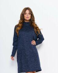 Платья ISSA PLUS 11037  S синий от Issaplus