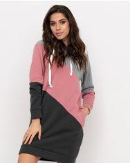 Платья ISSA PLUS 11073  M серый/розовый от Issaplus