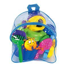 Набор для песочницы Polesie Номер 168 синий рюкзак (5006-4) от Будинок іграшок