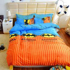 Комплект постельного белья MirSon Бязь 17-0190 Batman 160х220 см (2200001786691) от Rozetka