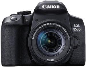 Фотоаппарат Canon EOS 850D 18-55mm IS STM Black (3925C016AA) Официальная гарантия! от Rozetka