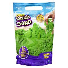 Песок для детского творчества Kinetic Sand Colour Зеленый 907 г (71453G) от Rozetka