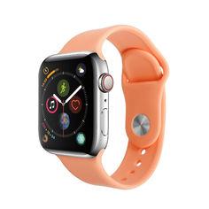 Акция на Ремешок Smart Band для Apple Watch 38/40 S/M оранжевый от Allo UA