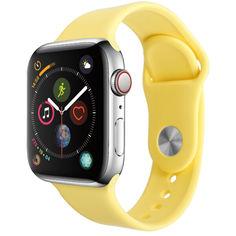 Акция на Ремешок Smart Band для Apple Watch 38/40 S/M желтый от Allo UA