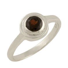 Акция на Кольцо из серебра с гранатом, размер 18 (1654089) от Allo UA