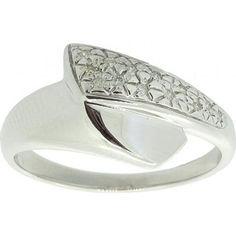 Акция на Кольцо из серебра с бриллиантами, размер 17.5 (1716896) от Allo UA