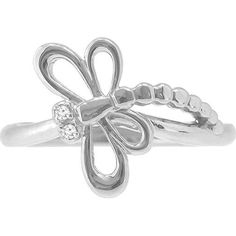 Акция на Кольцо из серебра с бриллиантами, размер 16 (1716656) от Allo UA