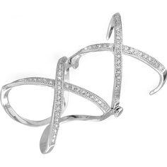 Акция на Кольцо из серебра с куб. циркониями, размер 16.5 (701051) от Allo UA