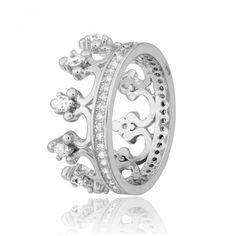 Акция на Кольцо из серебра с куб. циркониями, размер 16 (569915) от Allo UA