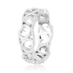 Акция на Кольцо из серебра, размер 16.5 (571785) от Allo UA