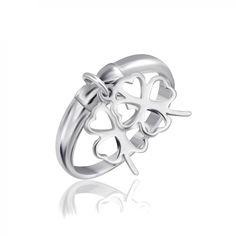 Акция на Кольцо из серебра, размер 16.5 (1357510) от Allo UA